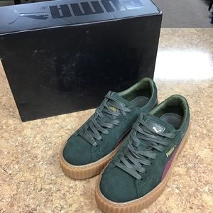 Fenty Puma Suede Creepers, new in box, size 7